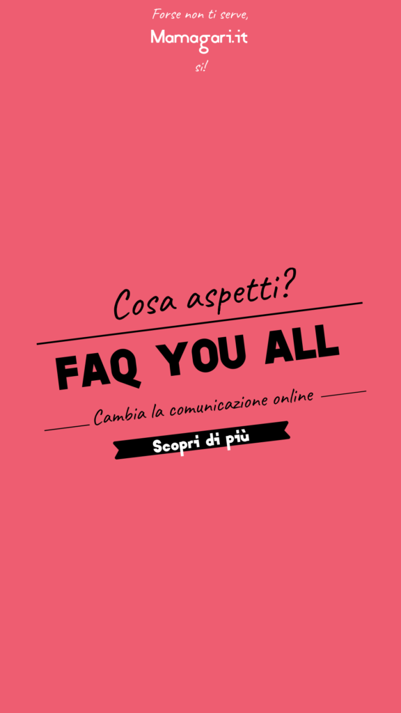 Faq you all strategia di web marketing avanzata