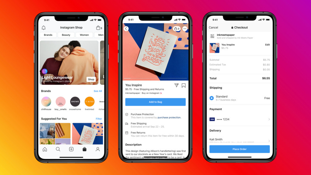 Instagram Shop - Facebook Shops Italia