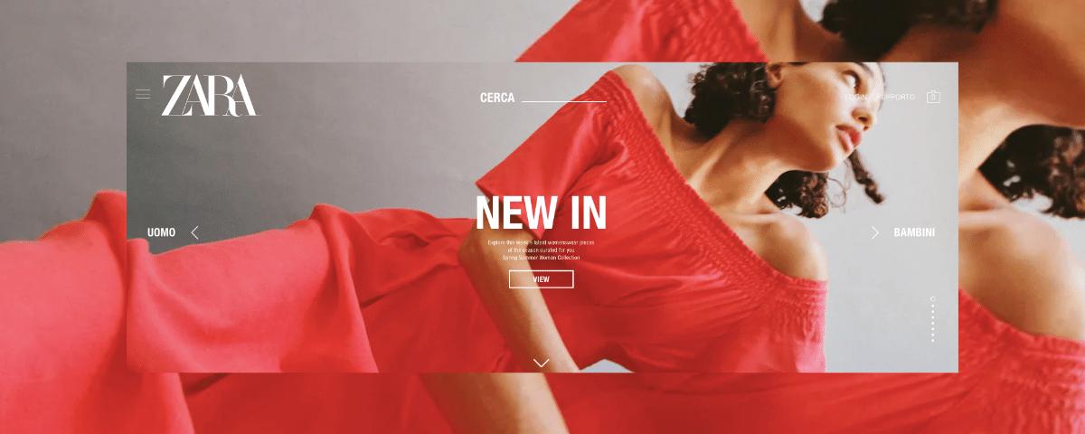 Zara eCmmerce. Chiude negozi per investire sullo shop online