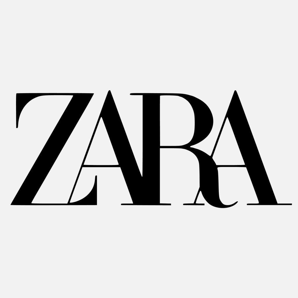 zara logo ecommerce