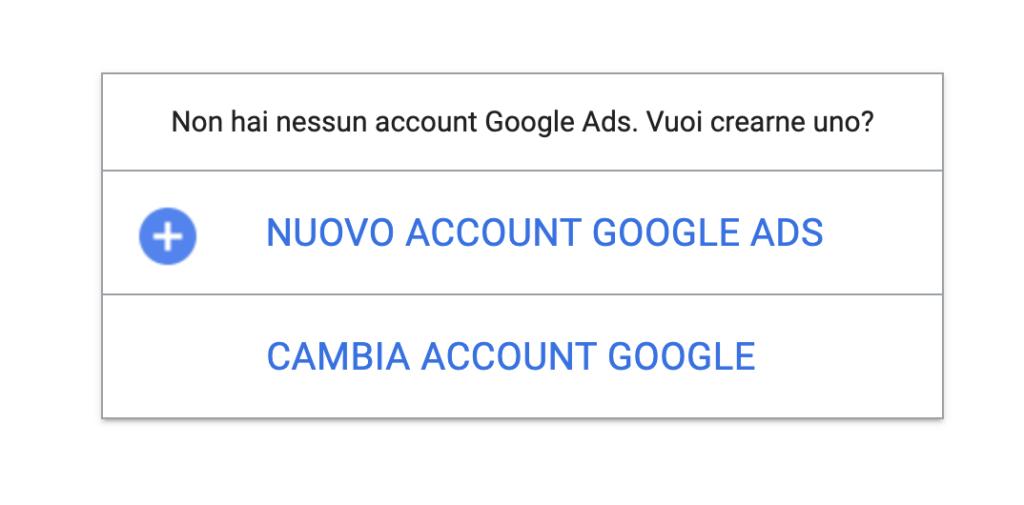 Google ADS problema del 24 Marzo 2021